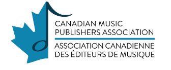 : top music associations in Canada